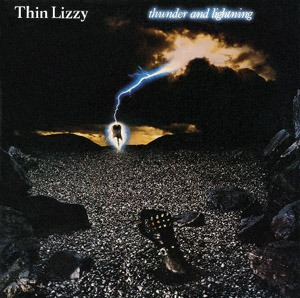thunder and lightning by thin lizzy album hard rock reviews