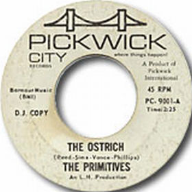 The Primitives - The Ostrich / Sneaky Pete