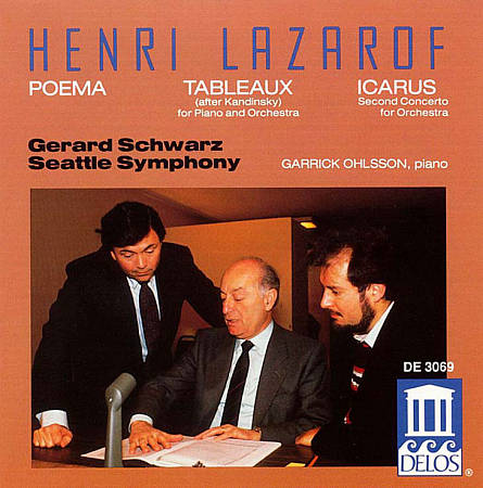 Poema; Tableaux; Icarus (Seattle Symphony/Gerard Schwarz) by Henri ...