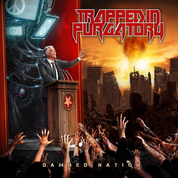 Cover art for Damned Nation by Trapped in Purgatory