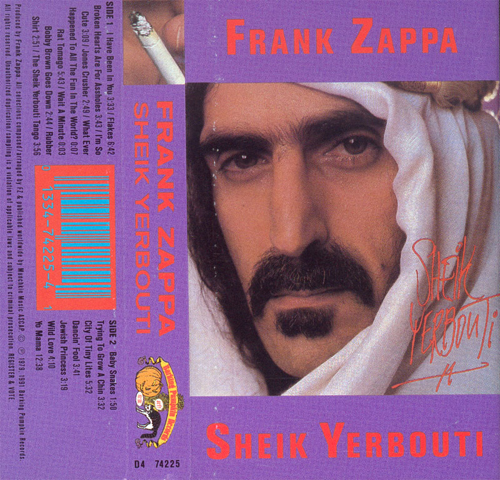 Sheik Yerbouti by Frank Zappa (Album; Barking Pumpkin; D4 74225): Reviews,  Ratings, Credits, Song list - Rate Your Music