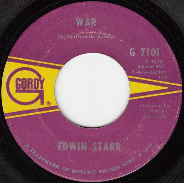 War He Who Picks A Rose By Edwin Starr Single Soul Reviews Ratings Credits Song List Rate Your Music