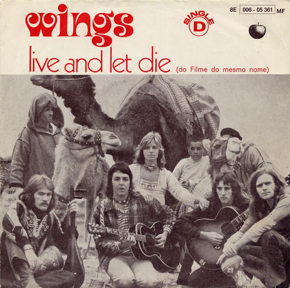 Live And Let Die I Lie Around By Paul McCartney Wings Single Apple 8E 006 05361 MF Reviews Ratings Credits Song List