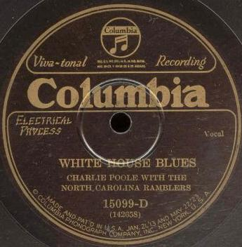 Charlie Poole with the North Carolina Ramblers - Monkey on a String / White House Blues