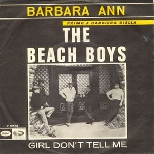 My Favorite Beach Boys Songs With A Girls Name In It