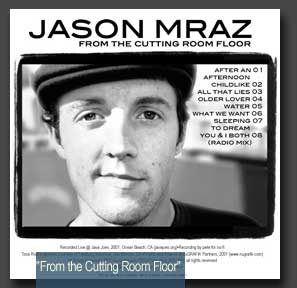 From the Cutting Room Floor by Jason Mraz (Album, Acoustic Rock ...