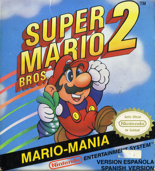 Super Mario Bros 2 Video Game Nes 1989 Reviews Ratings Glitchwave Video Games Database