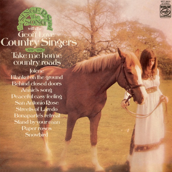 Take Me Home Country Roads By The Geoff Love Country Singers Album