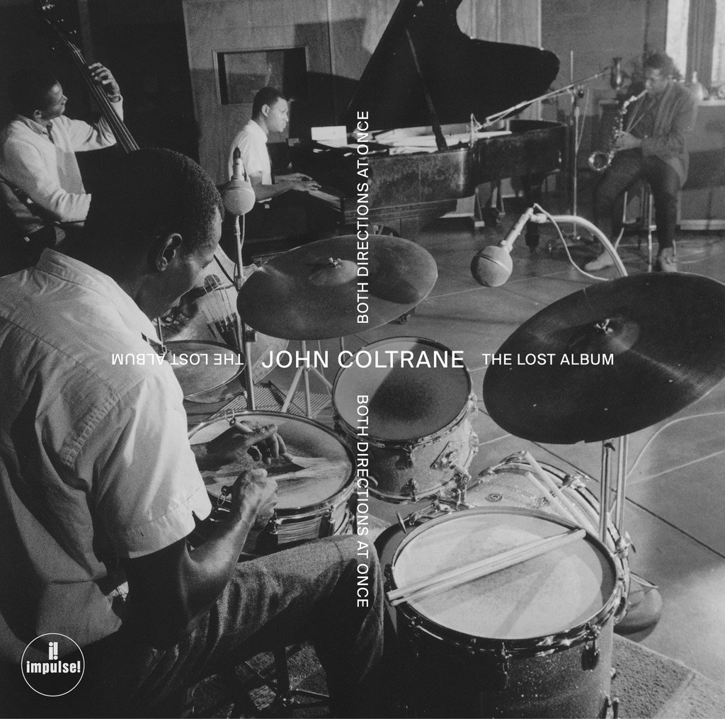 Image result for john coltrane both directions at once vinyl