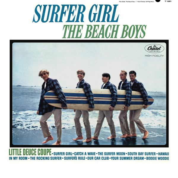 Surfer Girl By The Beach Boys Album Surf Rock Reviews Ratings