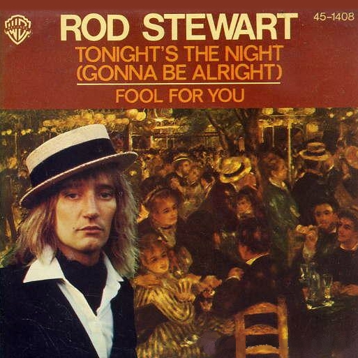 Image result for Tonight's the Night (Gonna Be Alright) 1977