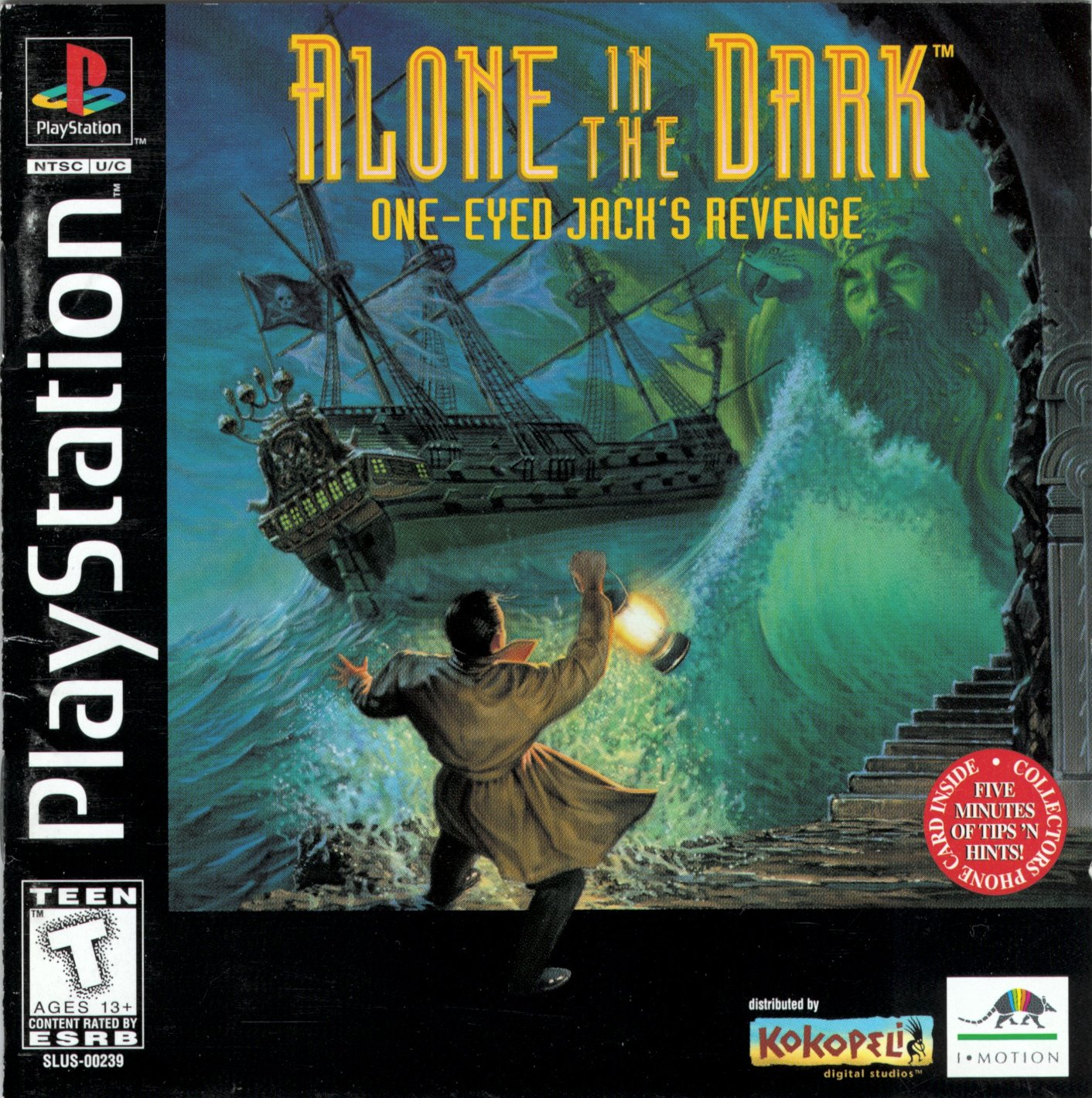 Alone In The Dark 2 Video Game Ps1 1996 Reviews Ratings