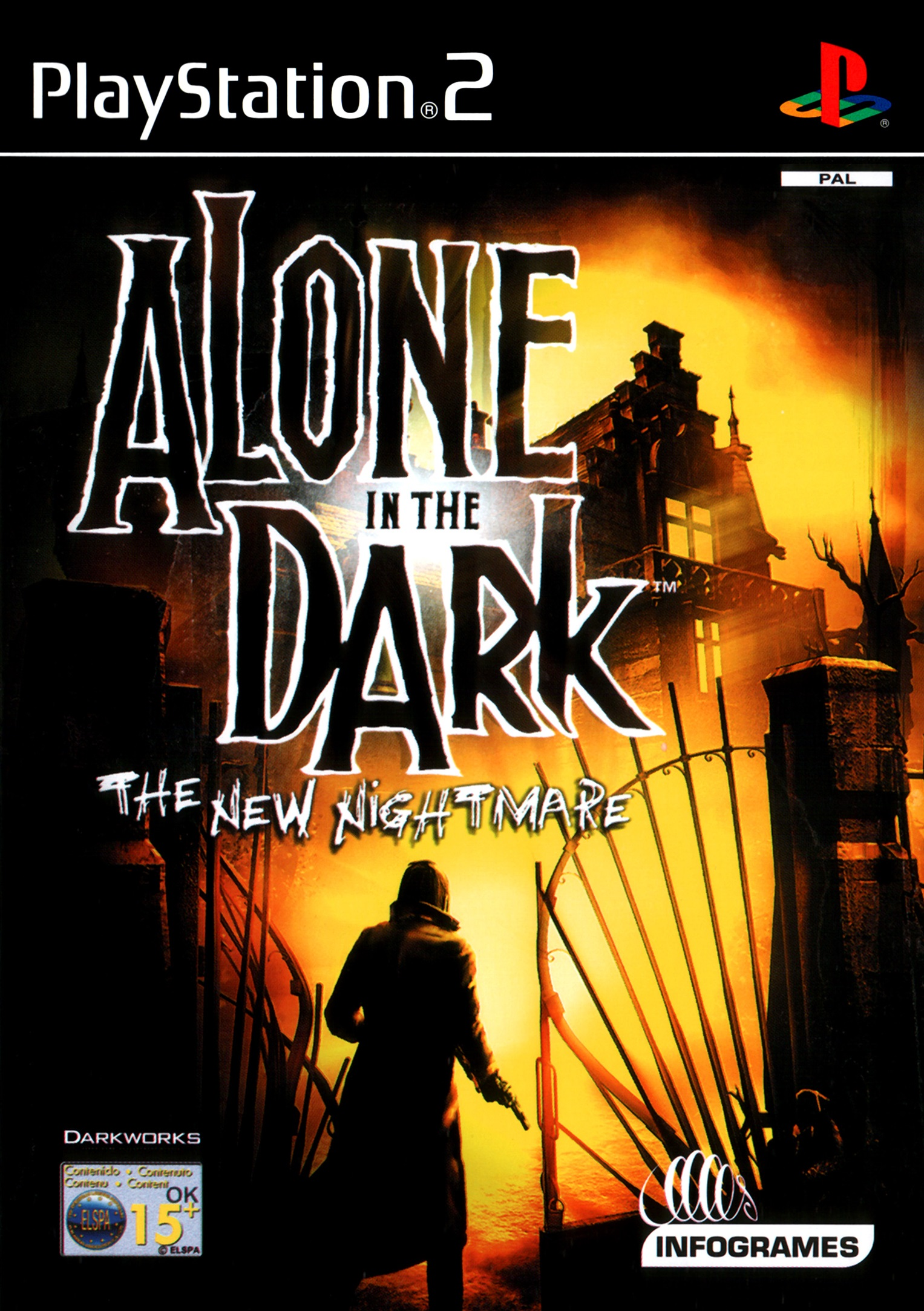 Alone In The Dark The New Nightmare Video Game Ps2 2001