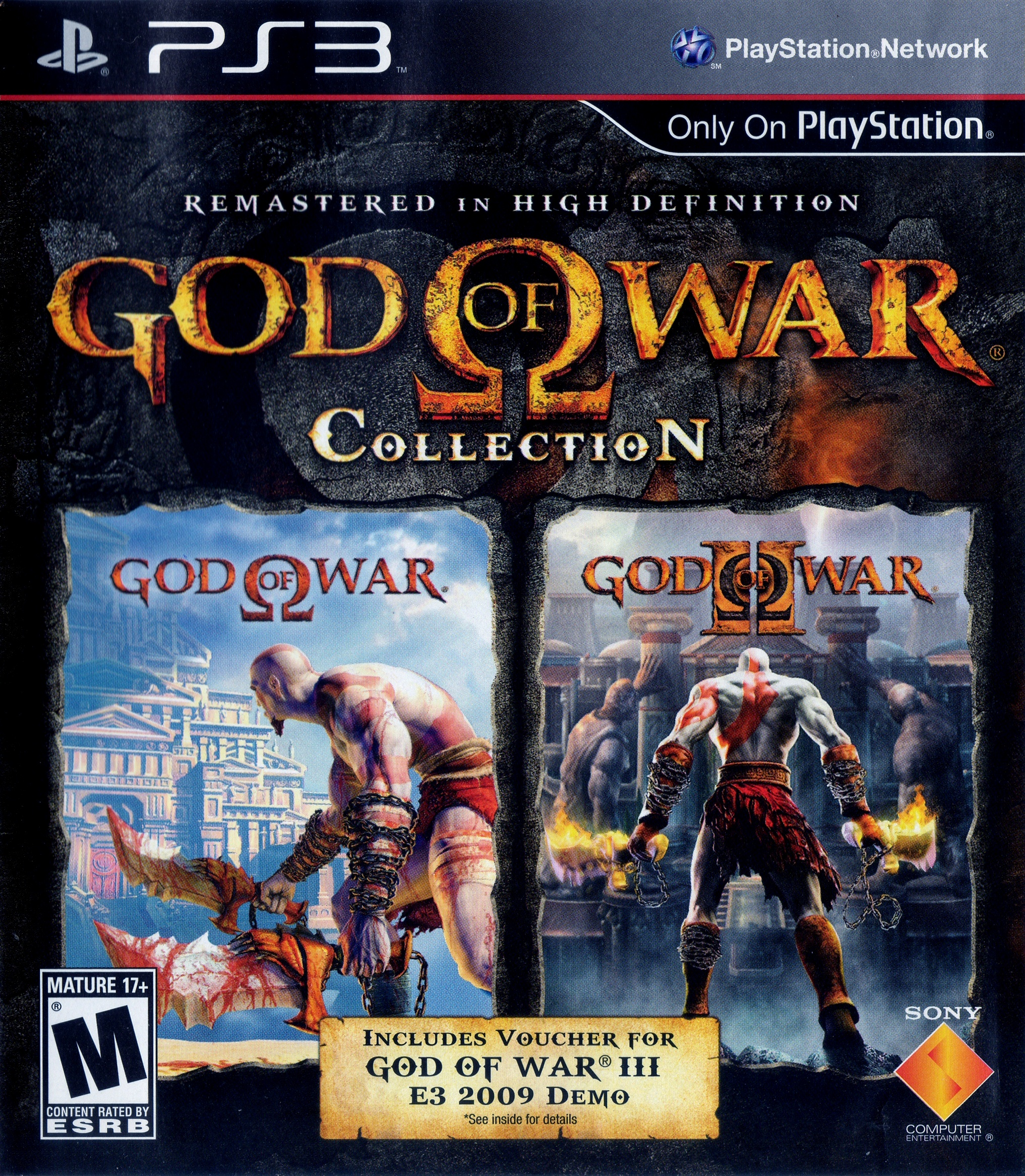God of War Collection (video game, PS3, 2009) reviews & ratings