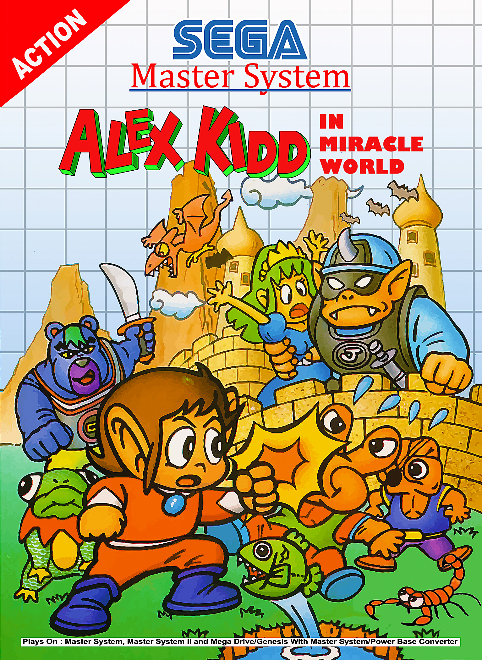 alex the kid in mirical world