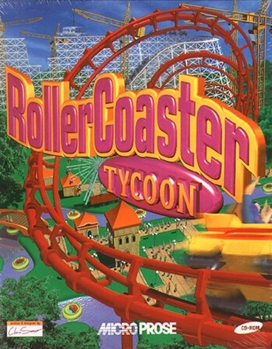 RollerCoaster Tycoon (video game, construction and management