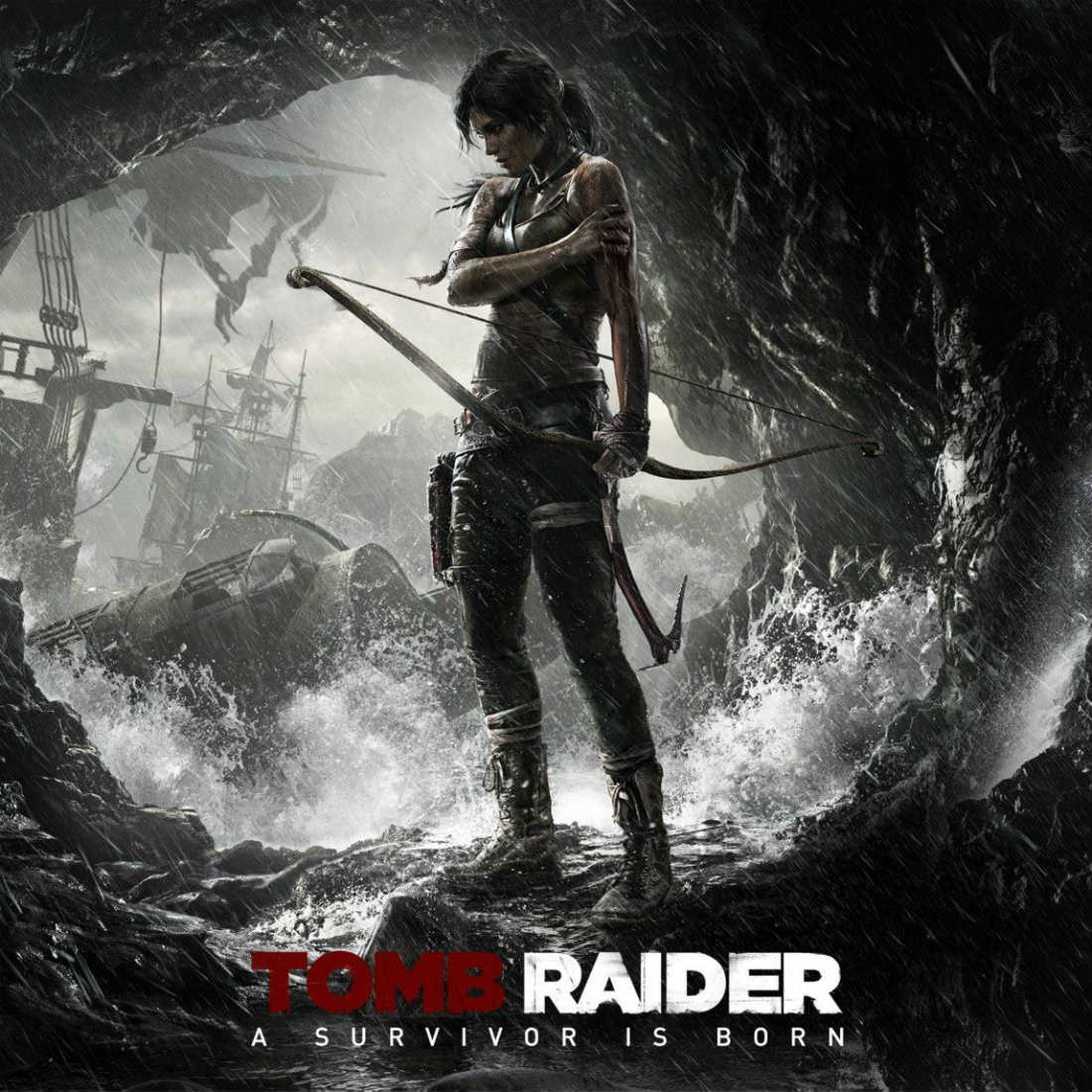 Tomb Raider Video Game Third Person Shooter Action Adventure