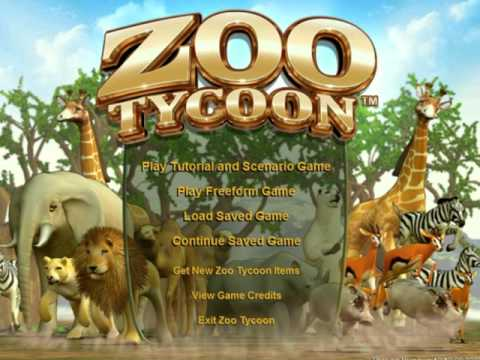 Zoo Tycoon (video game, business simulation, construction
