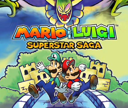 Mario Luigi Superstar Saga Video Game Turn Based Rpg
