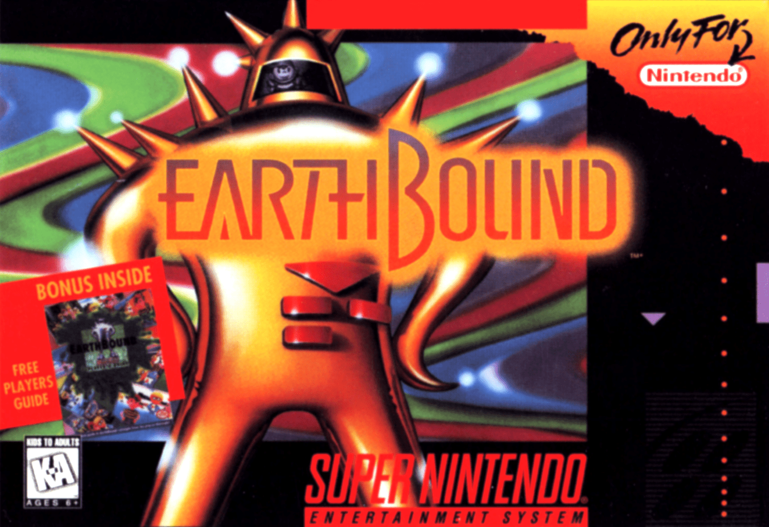 EarthBound [Mother 2 ギーグの逆襲] (video game, SNES, 1995