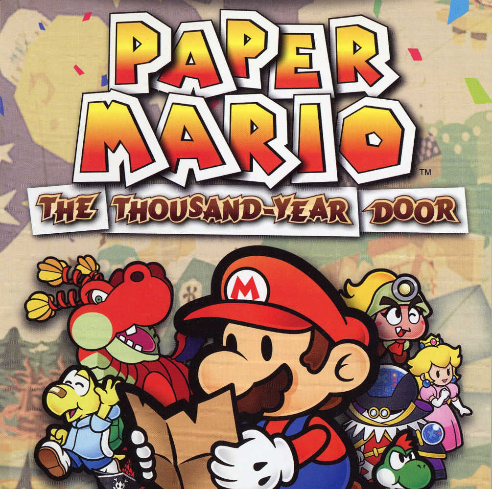 Paper Mario The Thousand Year Door Video Game Turn Based Rpg