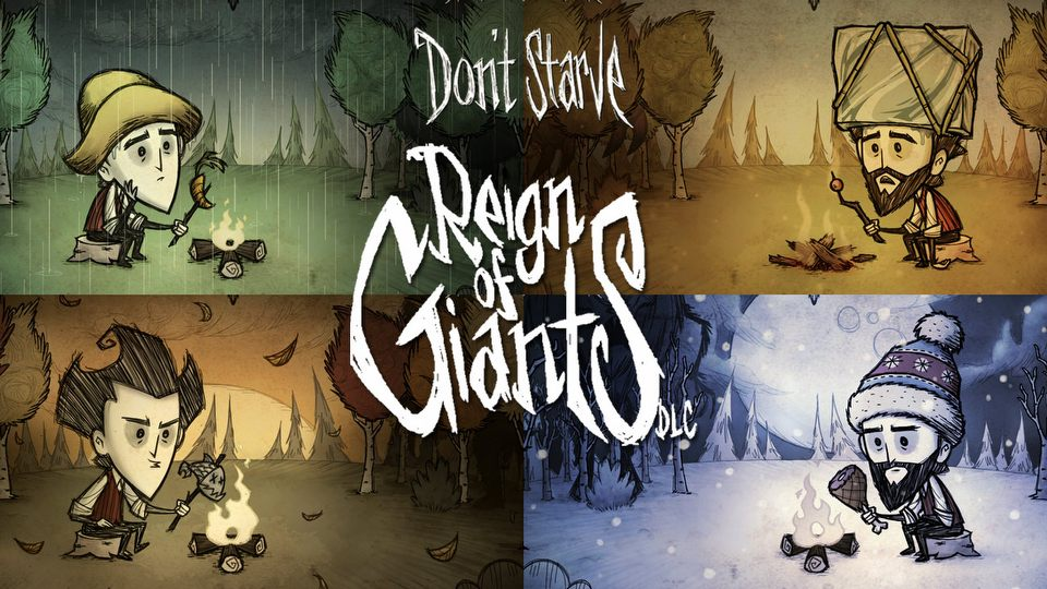 Don't Starve: Reign of Giants (video game, survival, fantasy ...